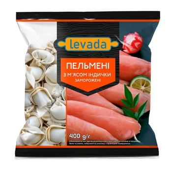 Levada Frozen With Turkey Meat Dumplings 400g - buy, prices for CityMarket - photo 1
