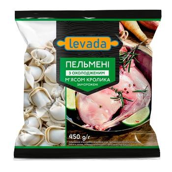 Пельмени Левада с мясом кролика 450г - купить, цены на Ашан - фото 1