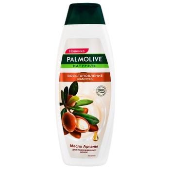 Шампунь для волосся Palmolive Naturel олія аргани відновлення 380мл - купити, ціни на Ашан - фото 1