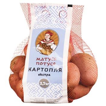 Картопля Матуся Потуся Екстра 2,5кг - купити, ціни на Ашан - фото 1