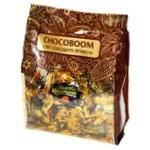 Цукерки Chocoboom Золоті каштани шоколадні з сезамом 180г