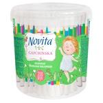 Novita delicate Sticks are cotton 200pcs
