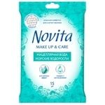 Novita Make Up&Care Wet wipes 15pcs