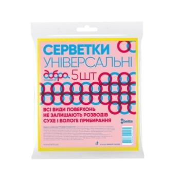 Салфетки Добра Господарочка универсальные 5шт - купить, цены на Ашан - фото 1