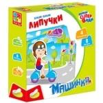 Игра Vladi Toys Машинки с липучками