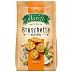 Хлібні брускети Maretti запечені зі смаком суміш сирів 140г