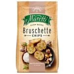 Хлебные брускеты Maretti запеченные со вкусом грибы со сметаной 70г