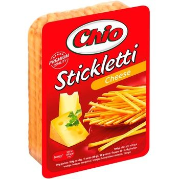 Sticks Chio Stickletti with cheese flavor 80g - buy, prices for CityMarket - photo 1
