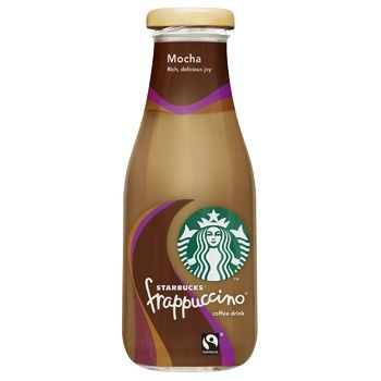 Starbucks Frappuccino Mocca Coffee Drink 250ml - buy, prices for CityMarket - photo 1