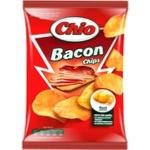 Чіпси Chio картопляні зі смаком бекону 150г