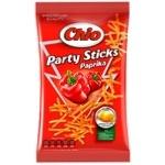 Potato chips Chio Party Sticks with paprika taste 70g Poland