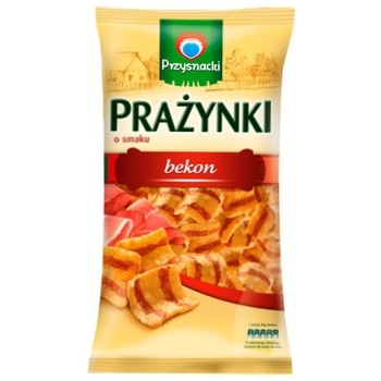Снеки Przysnacki картофельно-пшеничные со вкусом бекона 140г