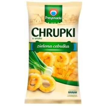 Przysnacki Corn snacks with the taste of green onions 85g - buy, prices for CityMarket - photo 1