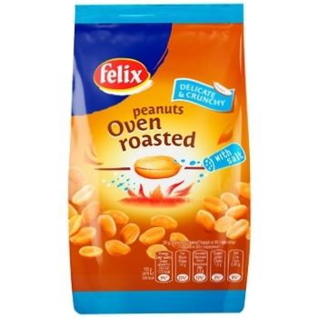 Felix Oven Roasted Peanuts with Salt 180g - buy, prices for CityMarket - photo 1
