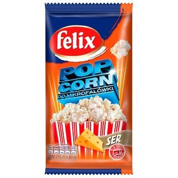 Попкорн Felix зі смаком сиру 90г