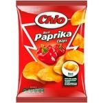 Чипсы Чио Чипс картофельные со вкусом паприки 150г Венгрия