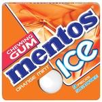 Mentos orange mint chewing gum 12,9g