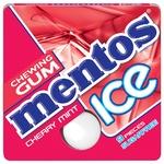 Mentos cherry mint chewing gum 12,9g