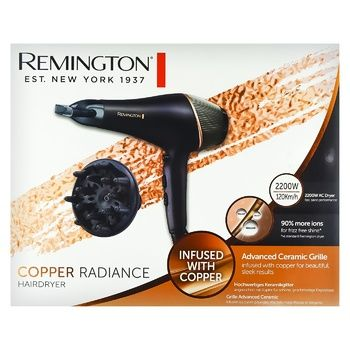 Фен Remington AC5700 Copper Radian - купить, цены на Ашан - фото 1