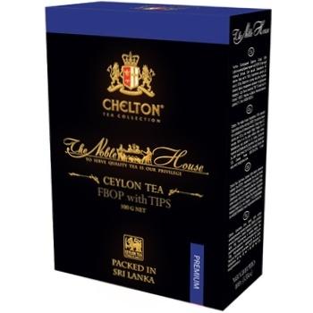 Чай Chelton Благородный дом черный листовой с типсами 100г - купить, цены на Ашан - фото 1