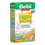 Dry instant dairy-free low-allergenic porridge Bebi Buckwheat enriched with prebiotics for 4+ month old babies 200g - buy, prices for CityMarket - photo 1
