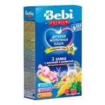 Bebi Premium For Children From 6 Months Three Cereals With Raspberry-Melissa Milk Pap 200g