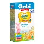 Dry instant rice milk porridge Bebi Dried apricots for 4+ month old babies 8-9 portions 250g