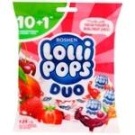 Roshen LolliPops Duo Yogurt Mix Candy 139g