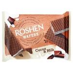Вафлі Roshen Wafers Какао-молоко 72г