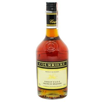 Бренди Courriere VSOP 40% 0,5л