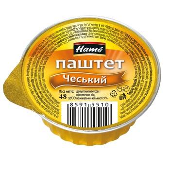 Паштет Hame Чешский 48г - купить, цены на СитиМаркет - фото 1