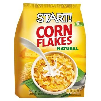 Start Corn Flakes Natural 700g - buy, prices for Auchan - photo 1