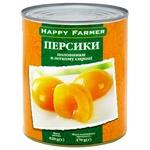 Happy Farmer Peaches Halves in Syrup 820g