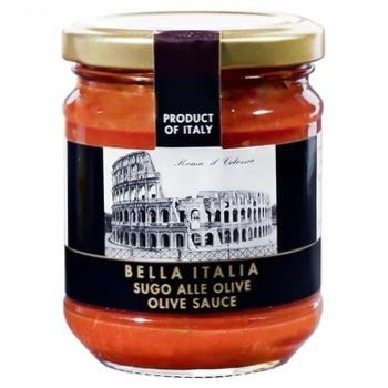 Соус Bella Italia с оливками 180г