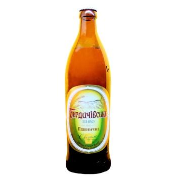 Berdychivske Wheat Light Beer 3,4% 0,5l - buy, prices for CityMarket - photo 1