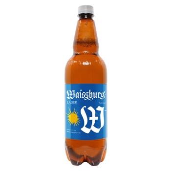 Пиво Уманьпиво Waissburg світле 4.7% 1л - купити, ціни на CітіМаркет - фото 1