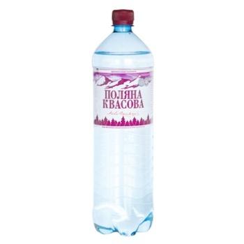 Вода Поляна Квасова газированная лечебно-столовая 1,5л