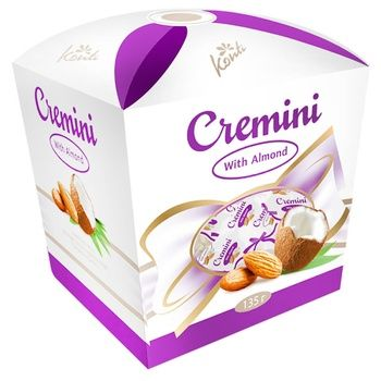 Konti Cremini Candies with Almonds 135g - buy, prices for Auchan - photo 1