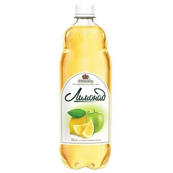 Напиток безалкогольный Оболонь Лимонад сильногазированный 1л