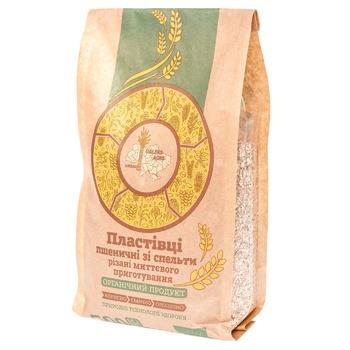 Хлопья Galeks-Agro пшеничные со спельты 500г