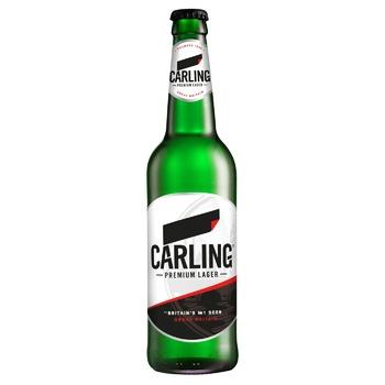 Пиво Carling світле 0,5л - купити, ціни на CітіМаркет - фото 1