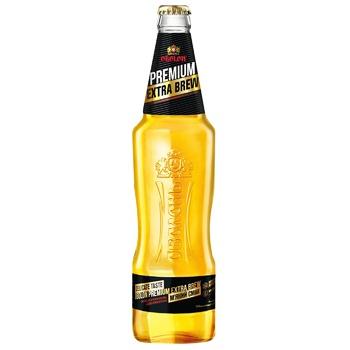 Пиво Оболонь Premium Extra Brew світле 4,6% 0,5л - купити, ціни на CітіМаркет - фото 1