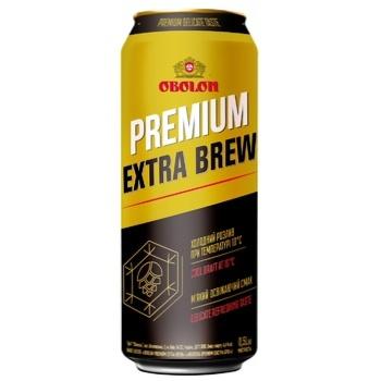 Obolon Premium Extra Brew light beer 4,6% 0,5l