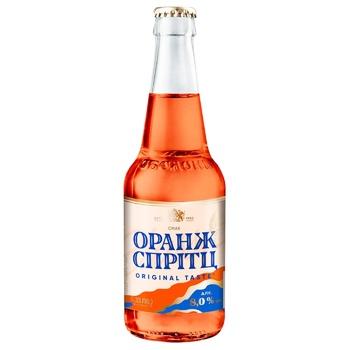 Obolon Low Alcohol Drink Orange Spritz 8% 0.33l - buy, prices for CityMarket - photo 2