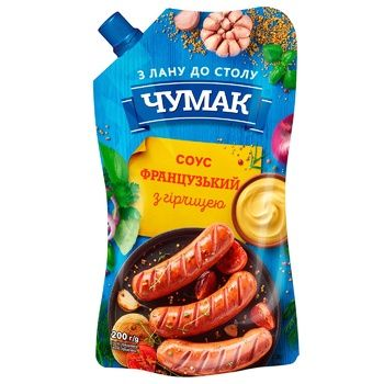 Chumak French Sauce with Mustard 200g - buy, prices for CityMarket - photo 1