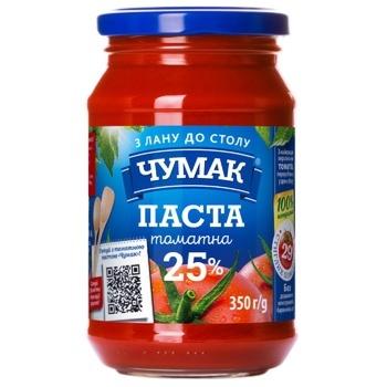 Chumak Tomato Paste 25% 350g - buy, prices for CityMarket - photo 1