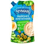 Chumak Mayonnaise Appetizing 50% 550g