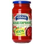 Соус Чумак шашлычный с овощами 440г - купить, цены на ЕКО Маркет - фото 1