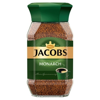 Jacobs Monarch Instant Coffee 95g - buy, prices for Auchan - photo 1
