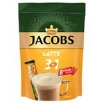 Напій кавовий Jacobs 3в1 Latte розчинний 13г х 8шт